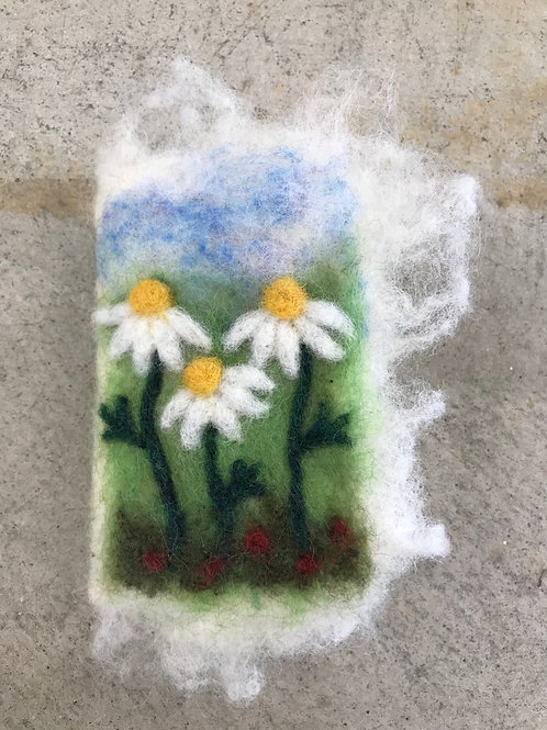 Needle Case-Field of Daisies