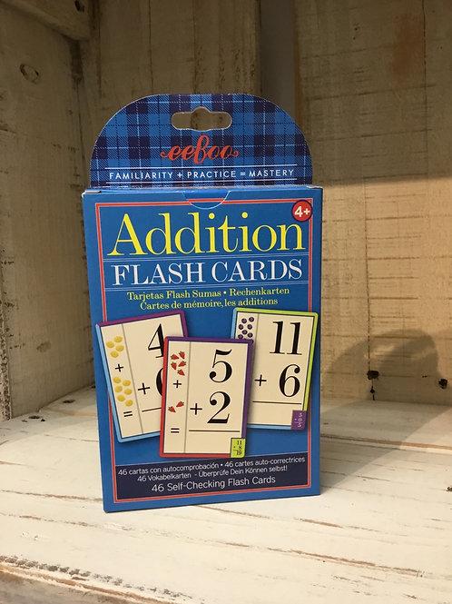 Addition Flash Cards by eeBoo