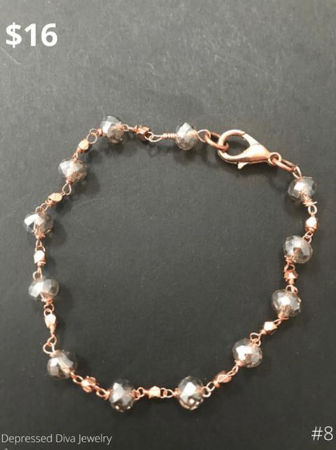 Handmade by Hillary-Depressed Diva Jewelry