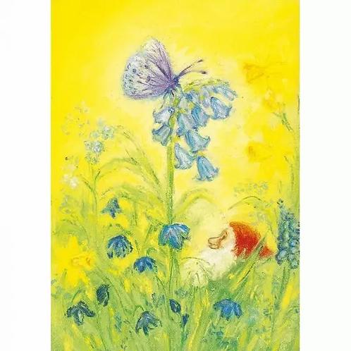 Marjan van Zeyl Postcards -Spring Butterfly