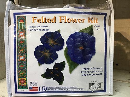 Felted Flower Kit by Harrisville Designs