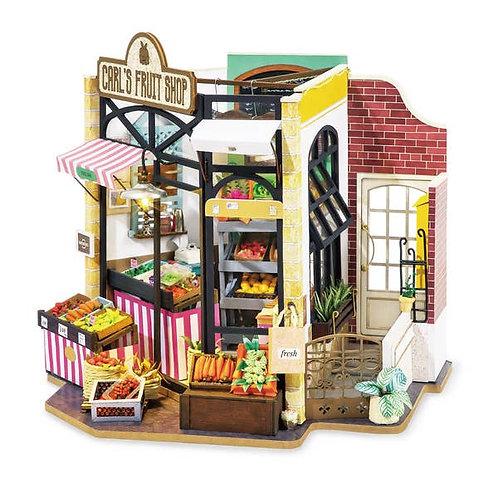 DIY Miniature House: Carl's Fruit Shop