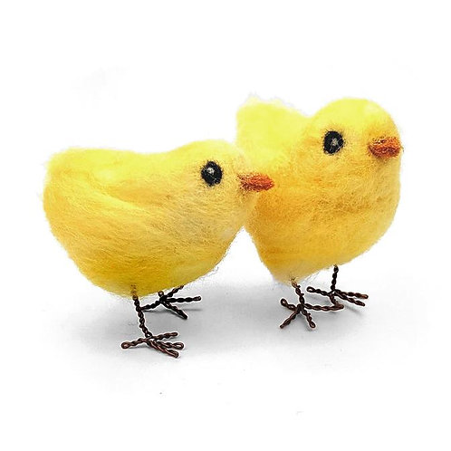 Chicks Needle Felting Kit