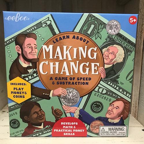 Making Change by eeBoo