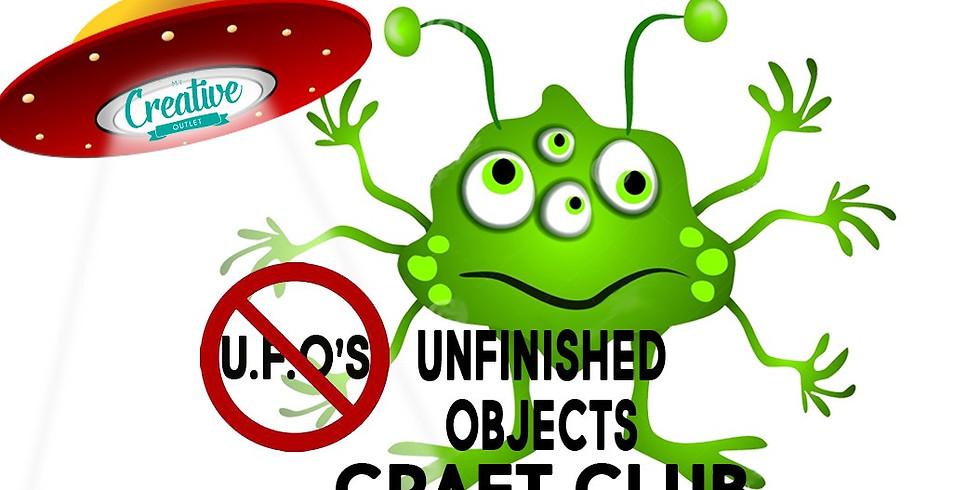 UFO Craft Club - Un-finished Objects (3)