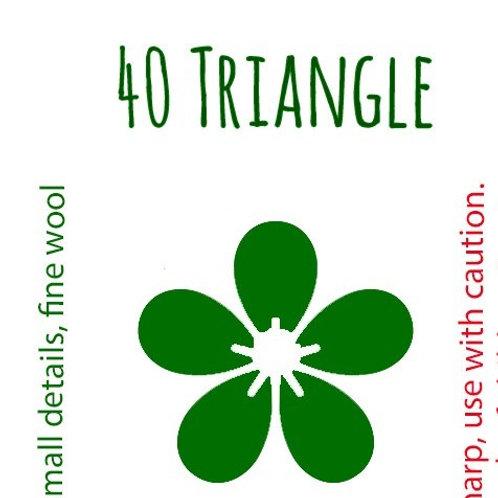 40 Triangle Felting Needle
