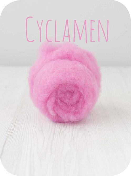 Maori Wool-Cyclamen