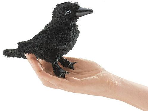Mini Raven Finger Puppet