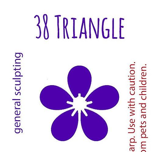 38 Triangle Felting Needle