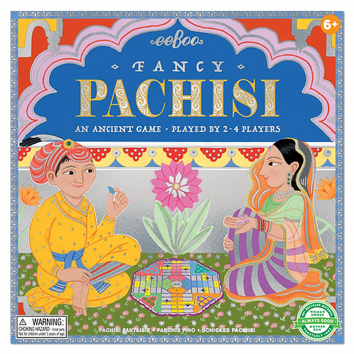 Fancy Pachisi Board Game Ages 6+