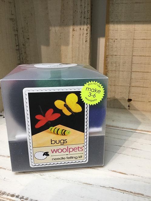 Woolpets Bugs Needle Felting Kit