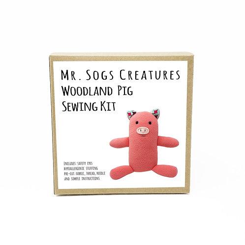 Woodland Creature DIY Sewing Kit