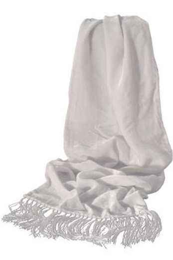 Solid Rayon/Silk Scarf