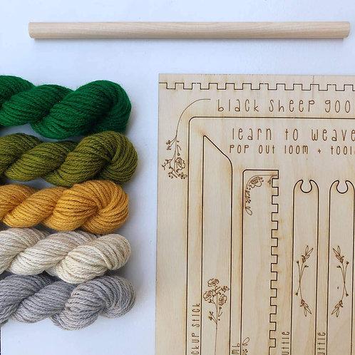DIY Tapestry Weaving Kit-Forrest