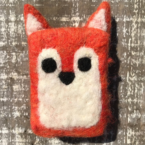 Fox Felted Soap