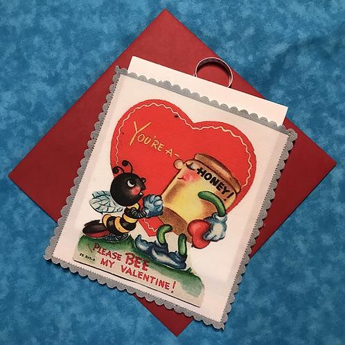 Bee Pocket Valentine