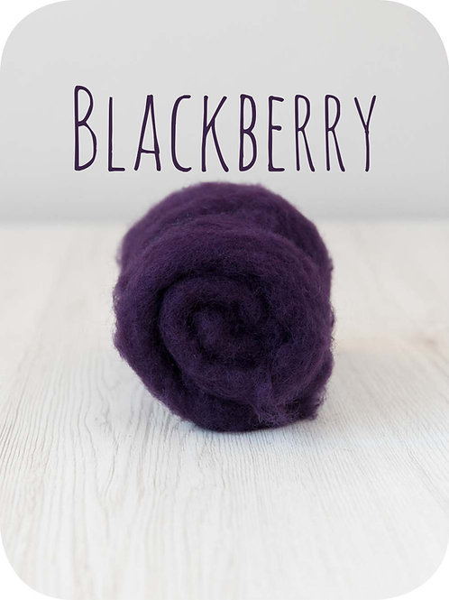 Maori Wool-Blackberry