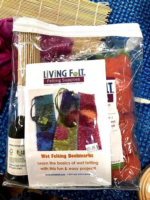 Wet Felting Kit by Living Felt