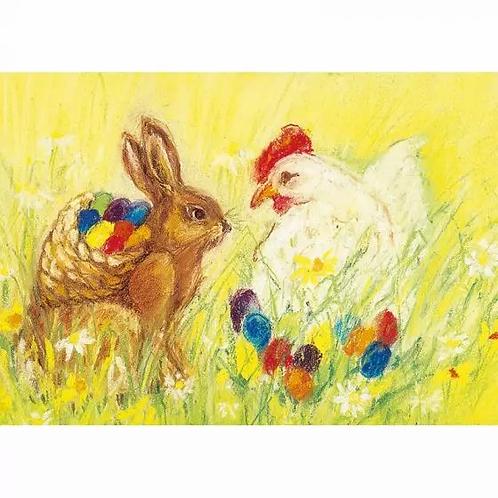 Marjan van Zeyl Postcards -Easter Egg