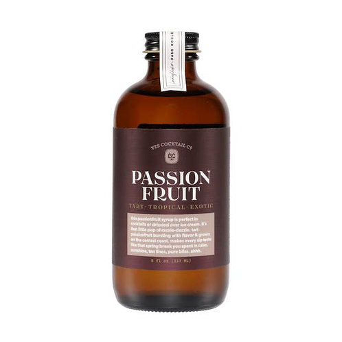 Passionfruit Syrup