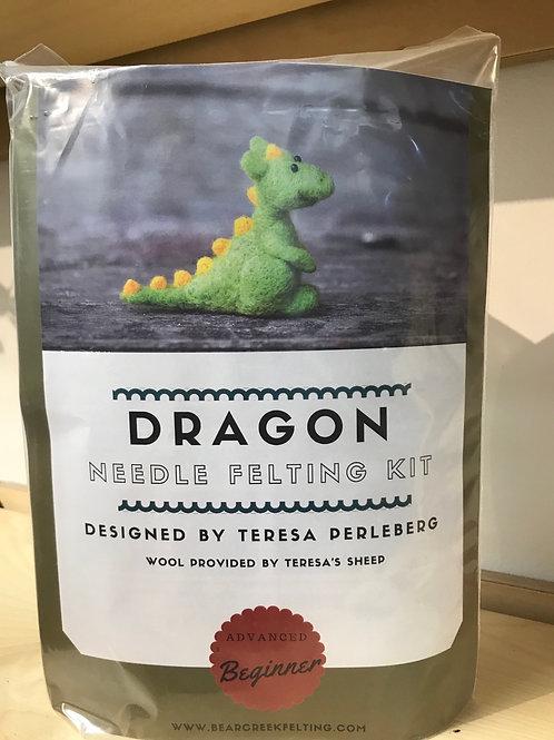 Bear Creek Felting Dragon Felting Kit