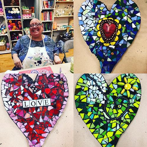 Mosaic Heart Kit