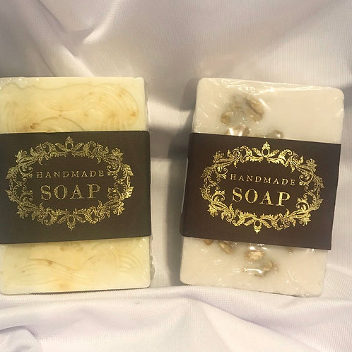 Goat milk, oatmeal and honey soap