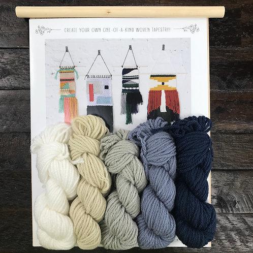 DIY Tapestry Weaving Kit-Storm