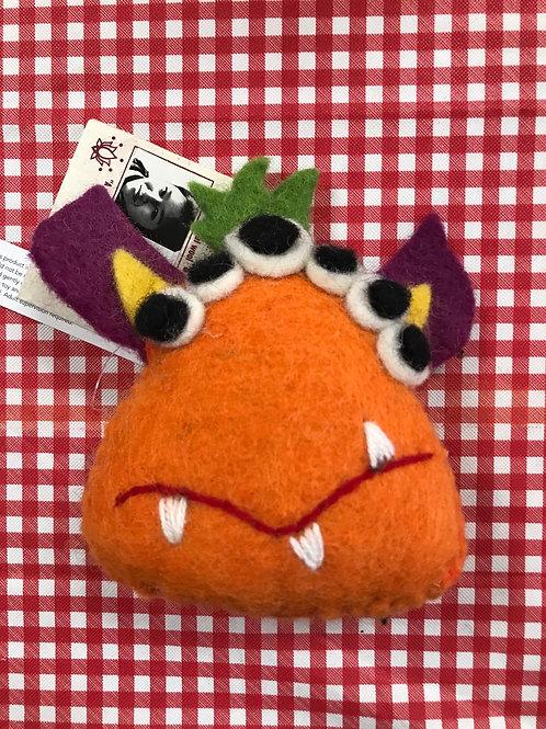 Monster Felt Tooth Fairy Pillow