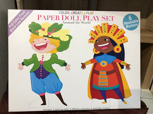 Paper Doll Play Set