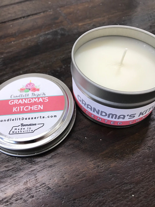 Candle in a Tin 6oz