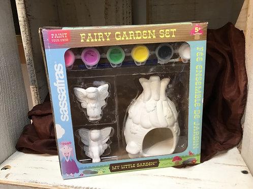 Paint a Fairy Garden Kit