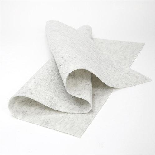 Heather White Wool Sheet