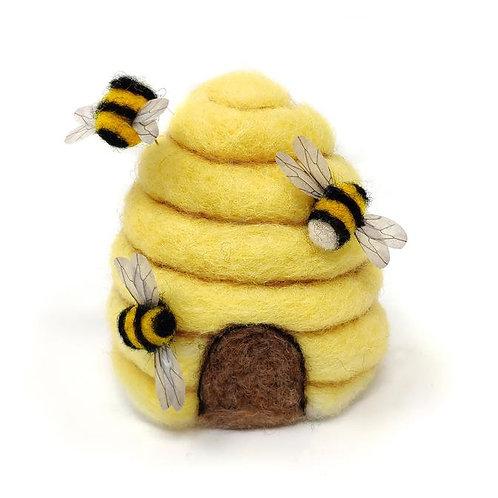 Bee Hive Needle Felting Kit