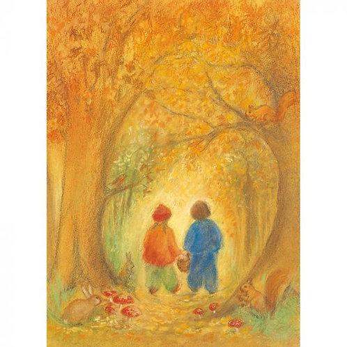 Marjan van Zeyl Postcards - Autumn Forest