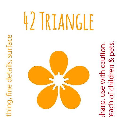 42 Triangle Felting Needle