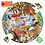 Thumbnail: Mushrooms and Butterflies 500 Piece Round Puzzle