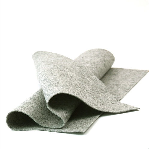 Heather Grey Wool Sheet