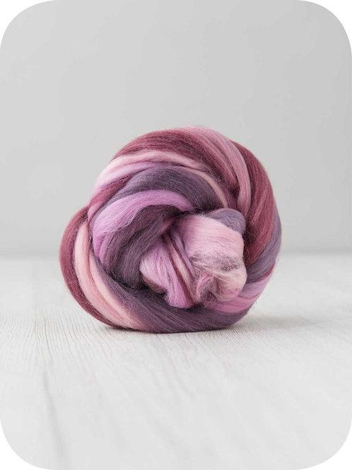 Extra Fine Merino Wool-Irises