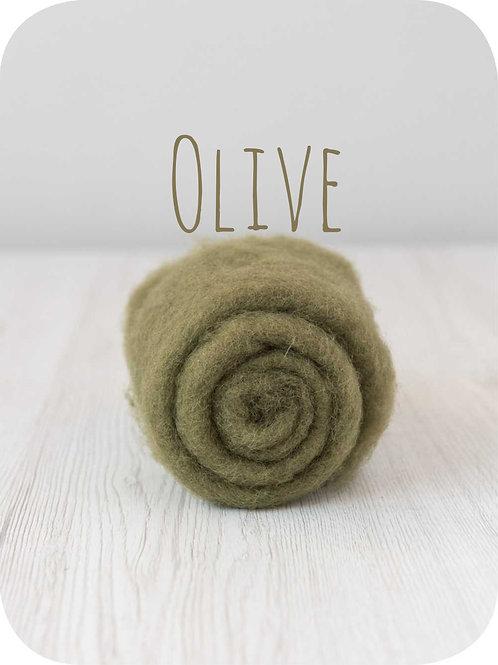Maori Wool-Olive