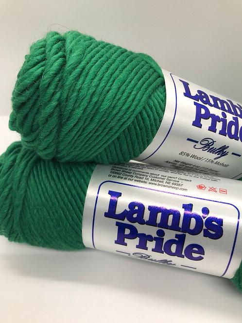 Brown Sheep Lamb's Pride Emerald Green
