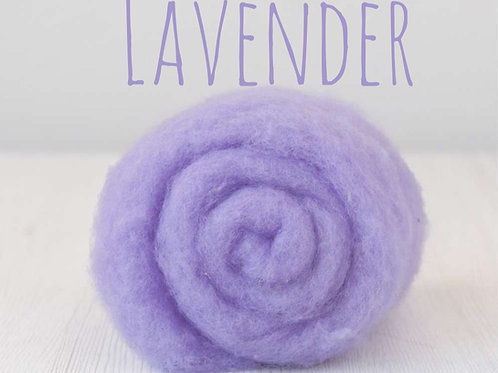 Maori Wool-Lavender