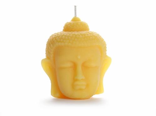 Beeswax Buddha Candle