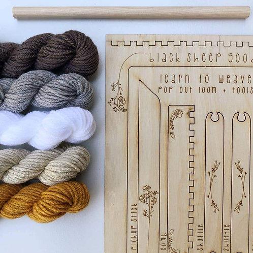 DIY Tapestry Weaving Kit-Honey