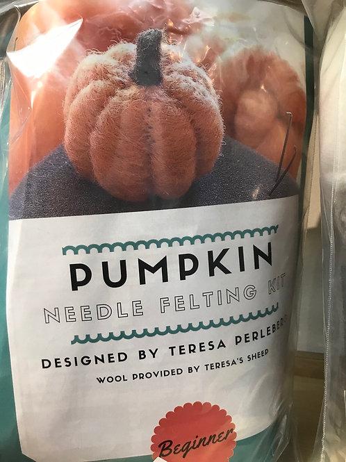 Bear Creek Felting Pumpkin Needle Felting Kit