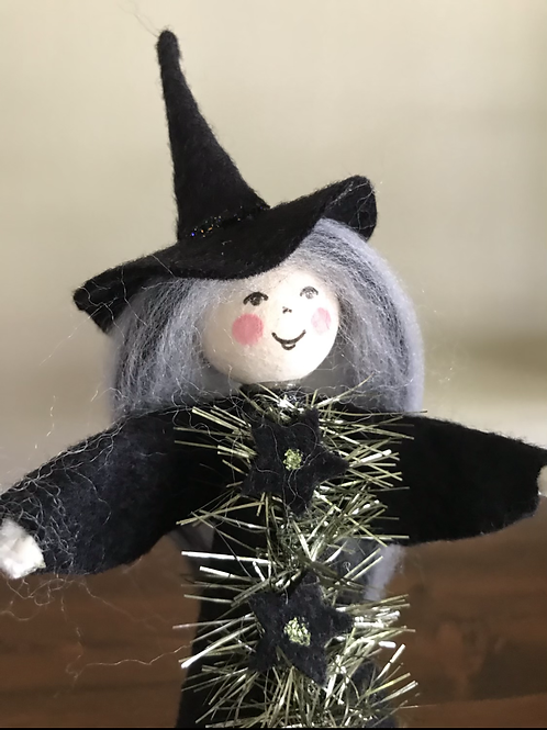 Vintage Inspired Witch