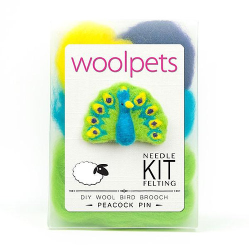 Woolpets-Bird Pin Needle Felting Kits