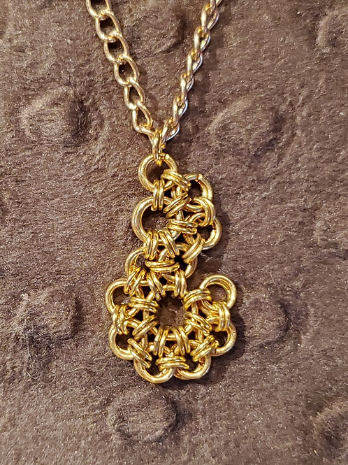 """Chain Maille """"S"""" Necklace"""