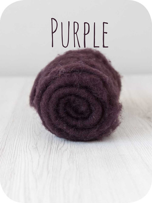 Maori Wool-Purple Plum