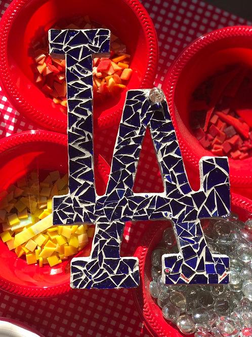 LA Dodgers Mosaic